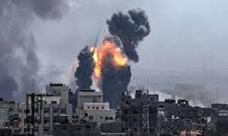 Israel strikes Gaza after militants fired rocket overnight