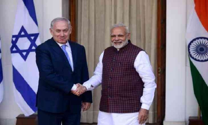 Israeli PM thanks PM Modi for India's vote against Palestinian group