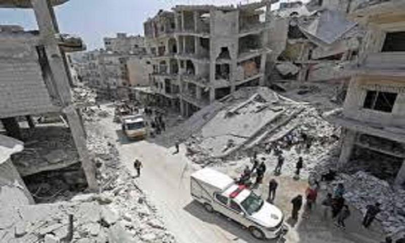 Russia announces ceasefire in northwest Syria