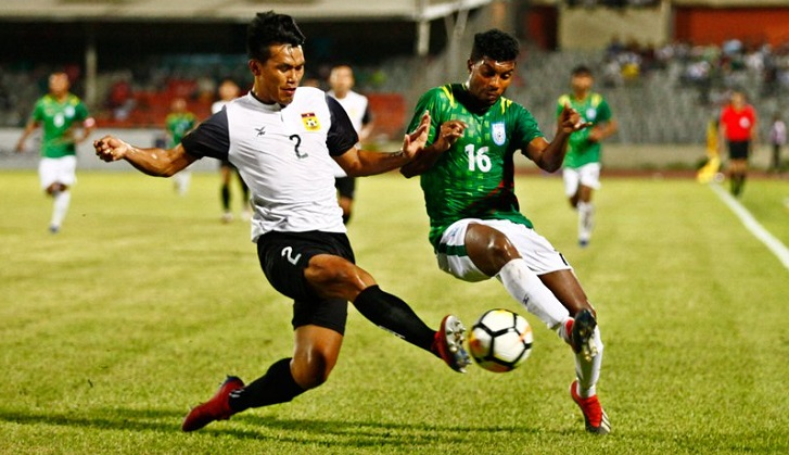 Bangladesh step 5-notch up in latest FIFA ranking