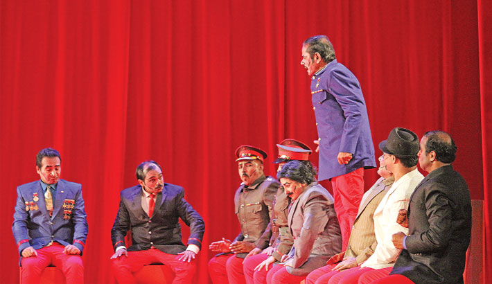 Stalin Comes Alive On Stage