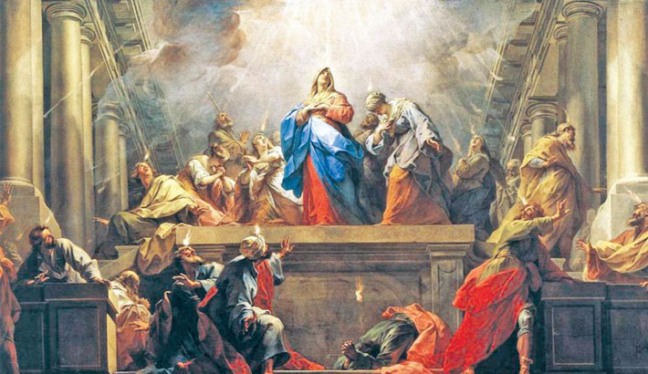 Pentecost, life and work of the Church
