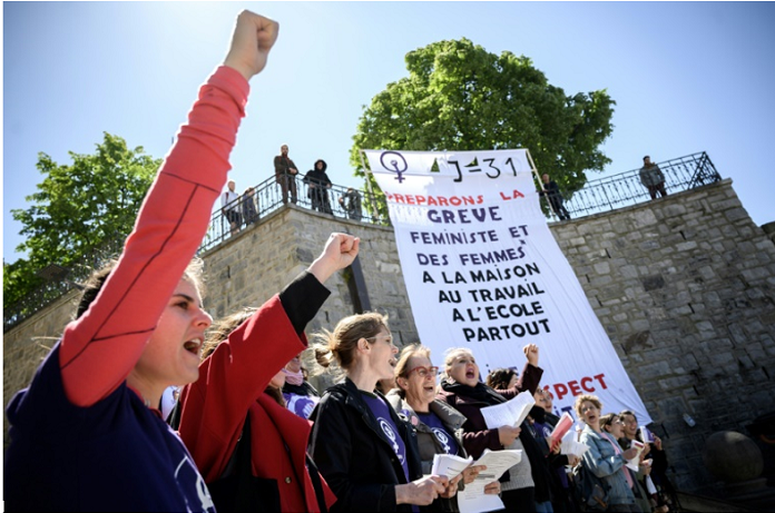 Swiss women rise up for equal pay