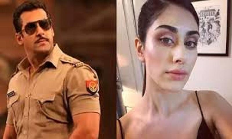 Warina Hussain to match steps with Salman Khan in Dabangg 3
