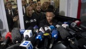Neymar undergoes questioning by police, denies rape claim