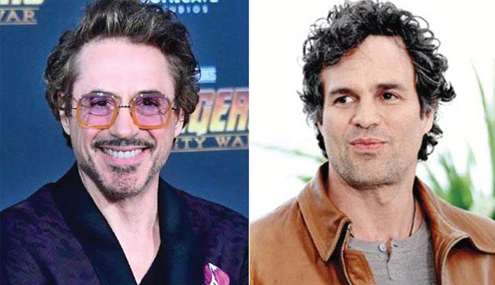 Robert Downey Jr. and Ruffalo wish Chris Evans on his birthday
