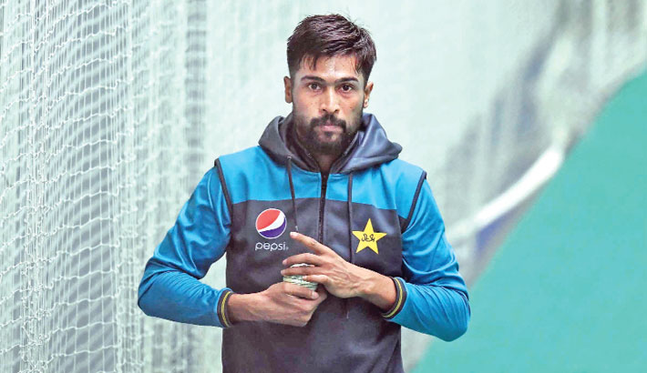 Pakistan pacer Mohammad Amir