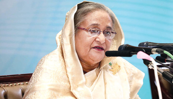 Hasina promises a  development war