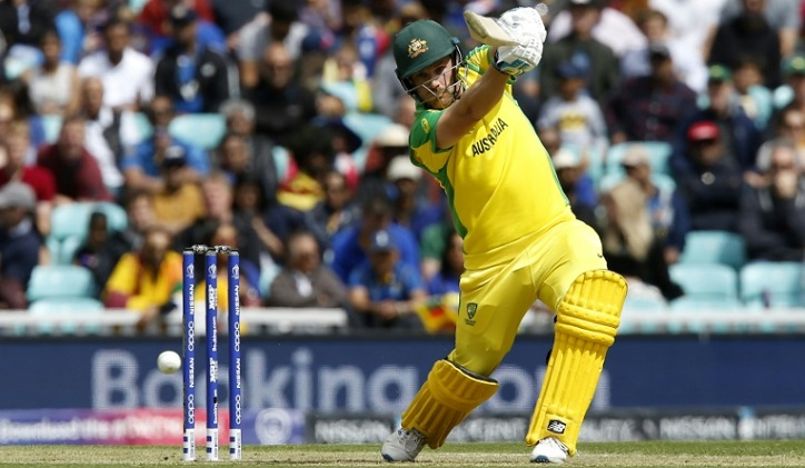 Finch hits World Cup ton as Australia dominate Sri Lanka