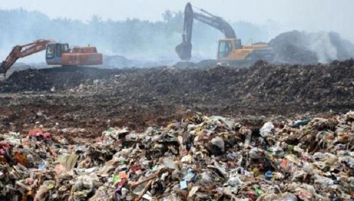 Alarm bells start ringing on Aminbazar garbage landfill