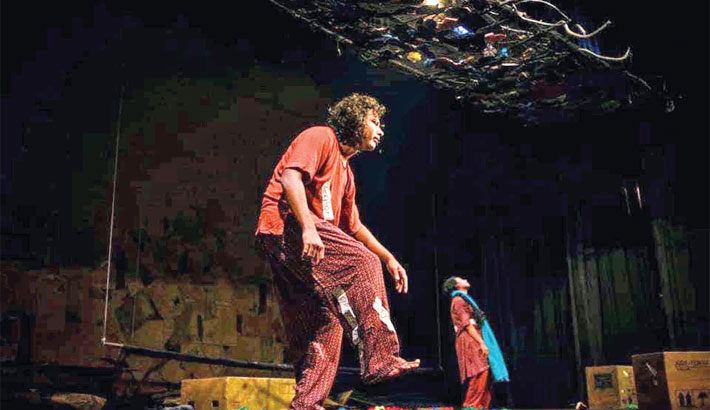 Prachyanat stages Tragedy Palashbari at BSA today