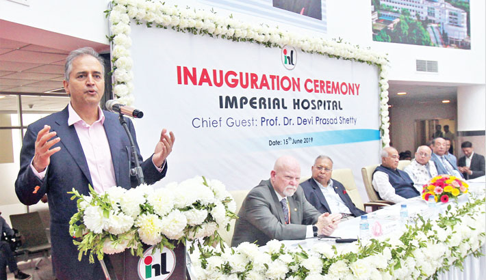 'Imperial Hospital'  starts journey  in port city
