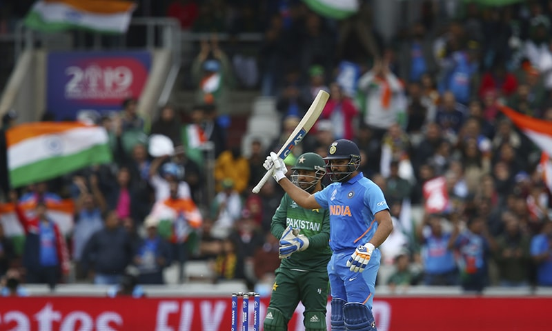 India set massive 337-run target for Pakistan to chase