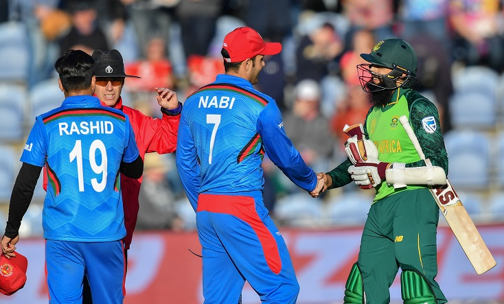 South Africa beat Afghanistan by nine wickets in Cricket World Cup