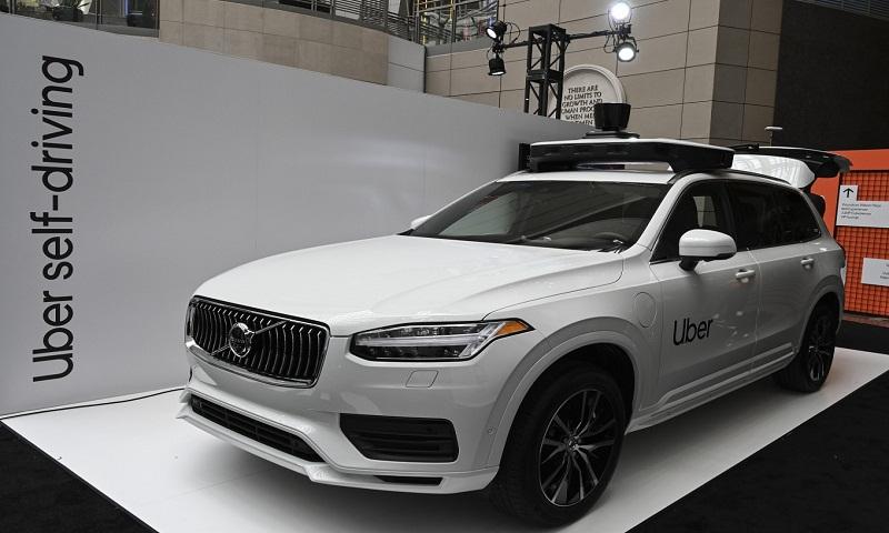 Uber unveils next-generation Volvo self-driving car