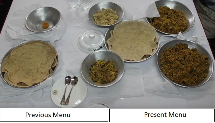 New food menu introduced for prisoners