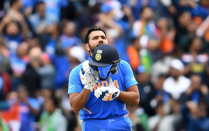 Rain stops play with India 305/4 in 46.4 overs