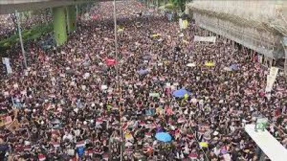 Hong Kong protest: 'Nearly two million' join demonstration