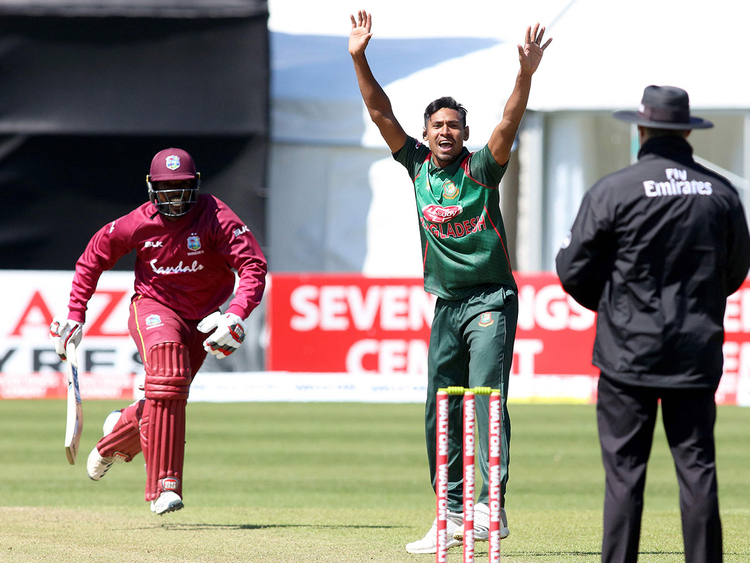 West Indies set 322 for Tigers
