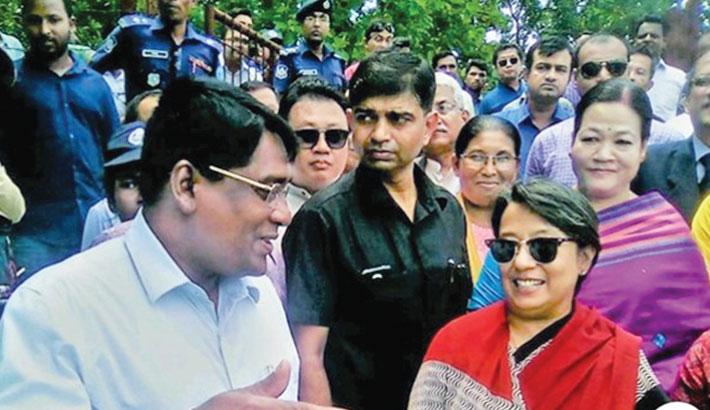 Visits Bangladesh-India Moitry Setu-1