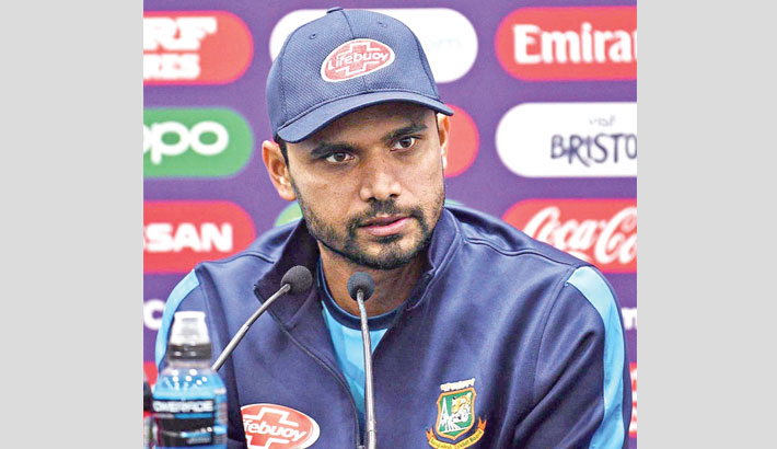 Taunton's shorter boundaries no problem for Bangladesh: Mashrafe