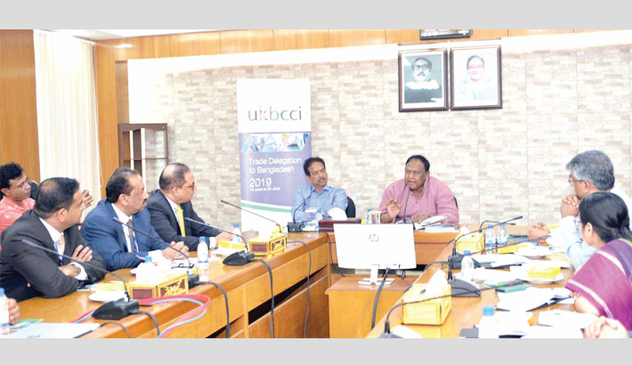 UKBCCI keen to expand trade, investment  in Bangladesh