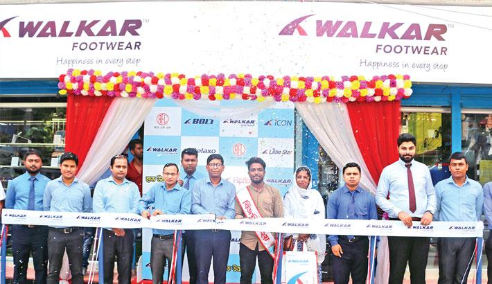 'Walkar' footwear  opens outlet  in Tangail