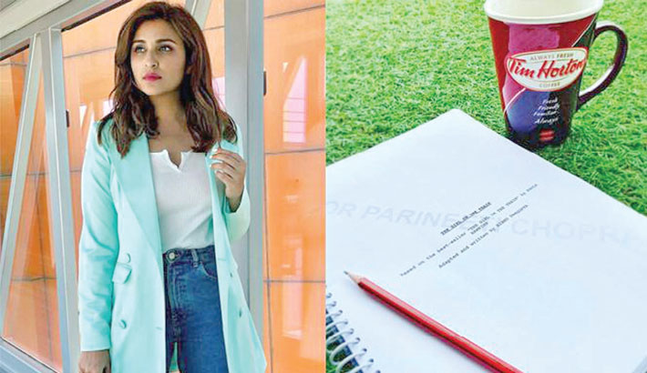 Parineeti kick starts her 'The Girl On The Train' journey