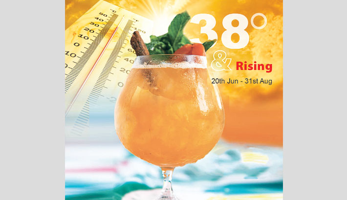 Long Beach Suites Dhaka Offering Thirst-Quenching Summer Drinks