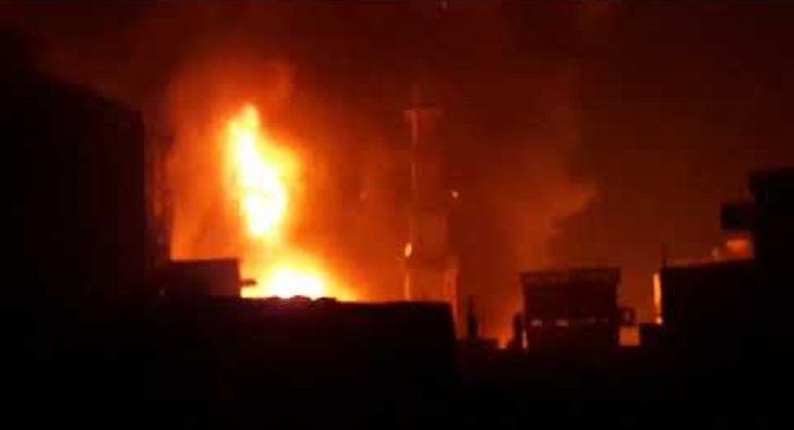 Fire at Khulna paper godown