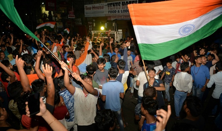 'This is not war': Fans make peace as India crush Pakistan