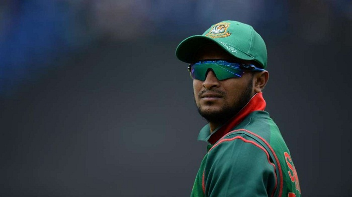 Shakib becomes 2nd Bangladesh batsmen to complete 6000 runs in ODIs
