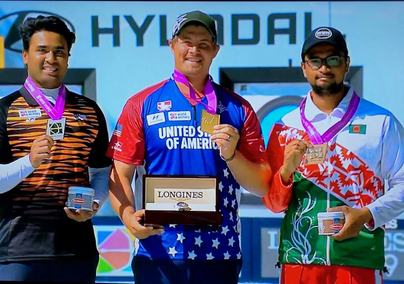 Ruman wins first ever medal for Bangladesh in World Archery