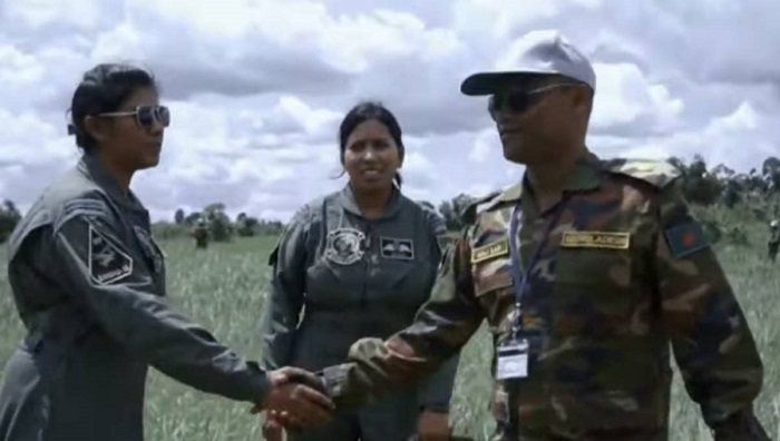 UN releases special video featuring 2 Bangladeshi female pilots (Watch)