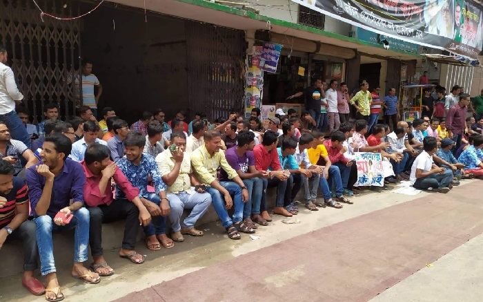JCD faction starts token hunger strike in front of BNP central office