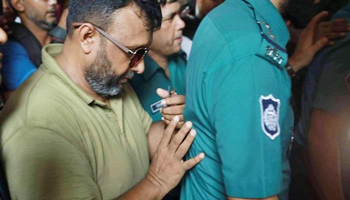 Former Sonagazi OC Moazzem denied bail, sent to jail