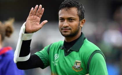 Shakib becomes top scorer in World Cup