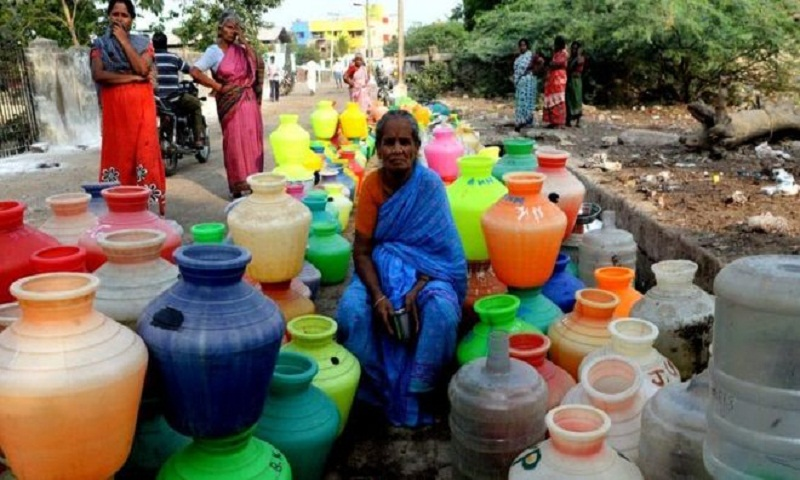 Chennai water crisis: City's reservoirs run dry
