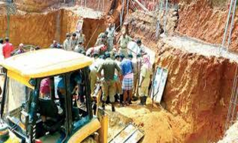 Two workers killed in Kerala as earth caves in