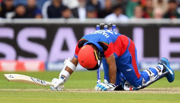 Afghanistan concede 150-run defeat to England World Cup