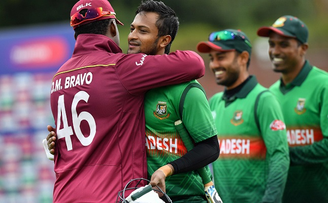 Shakib revels in Bangladesh's epic World Cup run chase