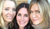 Courteney Cox celebrates 55th birthday with a Friends reunion