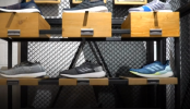 Factory making shoes out of plastic bottles (Video)