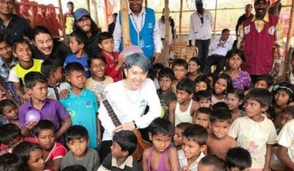 Future-solution-to-Rohingya-crisis-can-be-found-quickly:-Miyavi