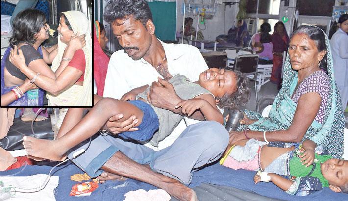 Anger in India as  lychee-linked brain  fever kills 103 children