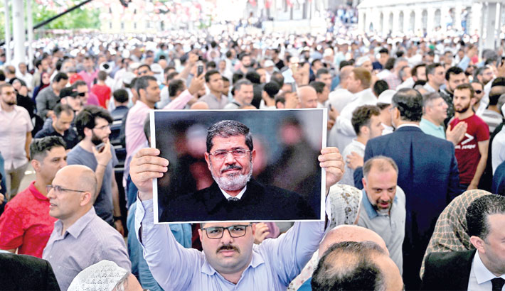 Morsi passes away after  collapsing in court