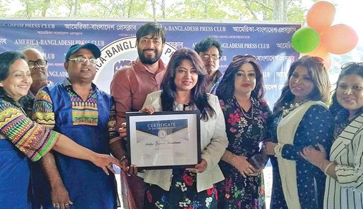 Moushumi gets ABPC's lifetime achievement award