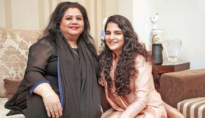 Mahdiyah lends voice to Runa Laila's Onek Bristi Jhore