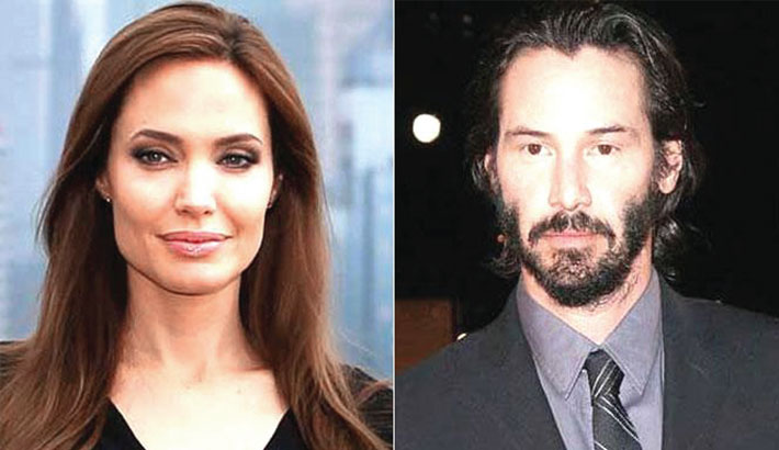 Does Angelina Jolie want to date Reeves?