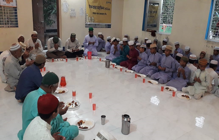 LAUGFS Gas observed Ramadan with underprivileged community